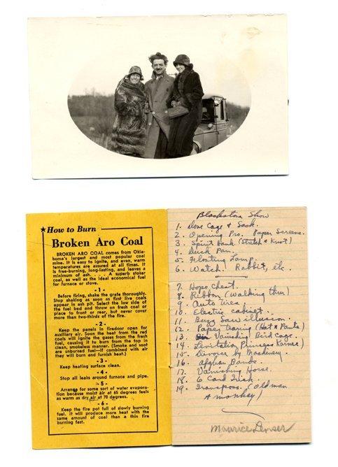 12: Harry Blackstone Archive of 24 pieces of ephemera a