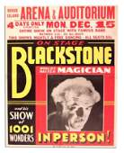13: Harry Blackstone poster. World's Master Magician.