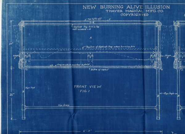 16: A collection of over 40 Thayer Blueprints and instr - 2
