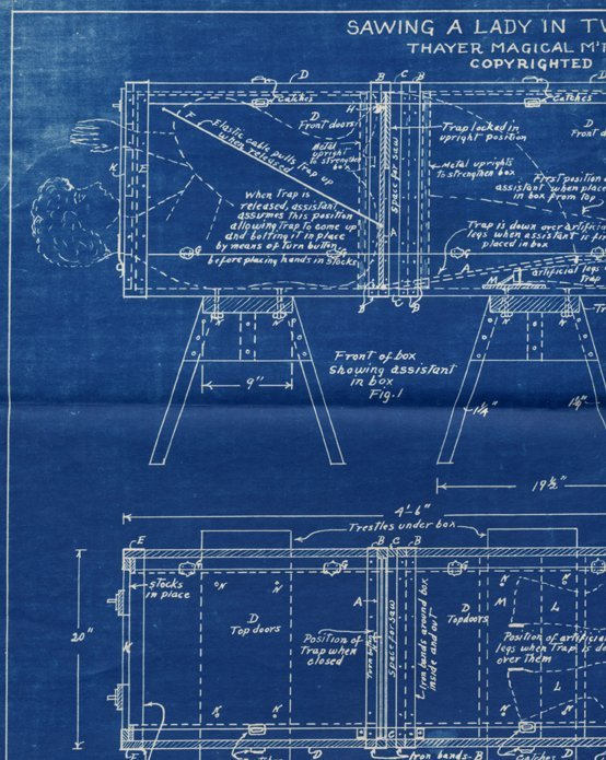 16: A collection of over 40 Thayer Blueprints and instr - 3