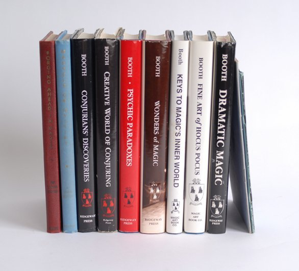 17: John Nicholls Booth. Group of 11 Volumes, many sign