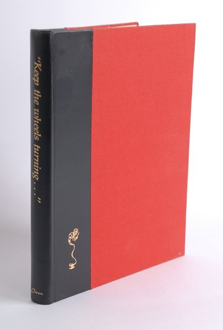 22: The Carl Owen Book. Keep the Wheels Turning….
