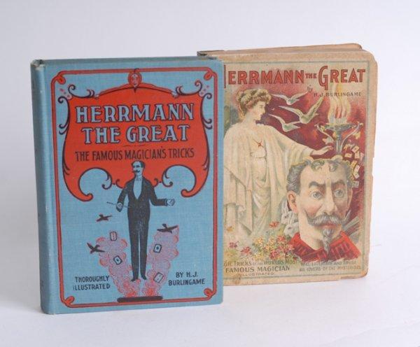 "23: Burlingame's  ""Herrmann the Great."""
