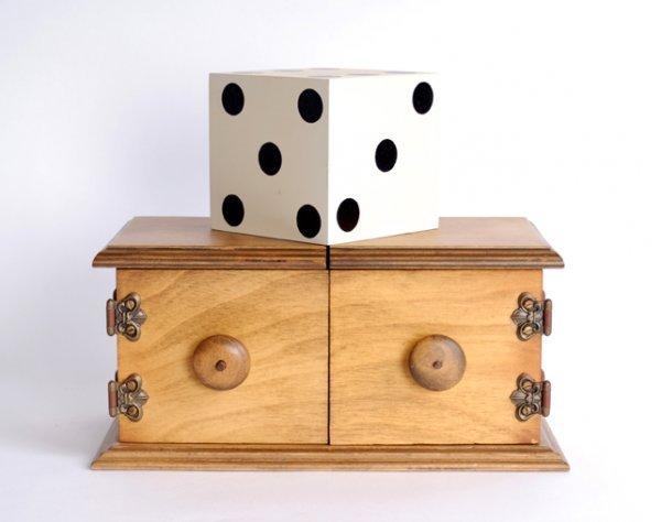 60: Jumbo Die Box by Delben & Co., 1970.