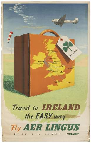 Aer Lingus / Travel to Ireland. Great Britain, 1953.