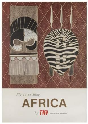 [AFRICA] TAP Portuguese Airways / Africa. 1960s.