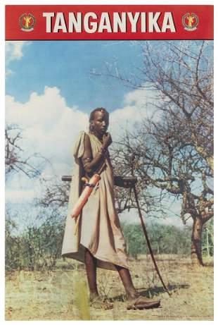 [AFRICA] Tanganyika. [London]: John Waddington, ca.