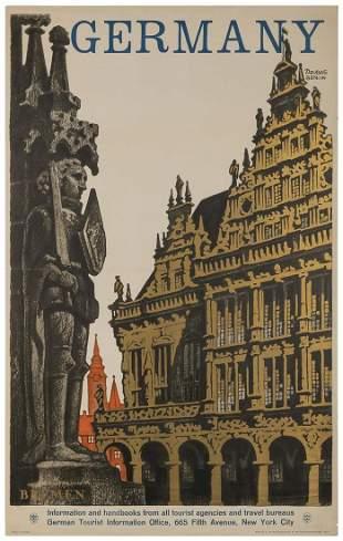 DZUBAS, Friedel (1915-1994). Bremen / Germany. Berlin,