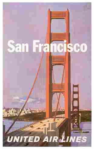 GALLI, Stan (1912–2009). United Air Lines / San