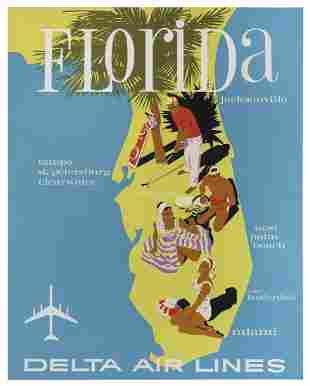 HARDY, John (1923–2004). Delta Air Lines /
