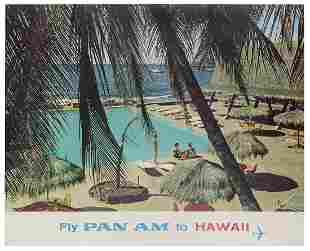 Pan American / Hawaii. 1965. Photographic airline