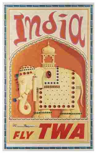 [INDIA] KLEIN, David (1918–2005). India / Fly
