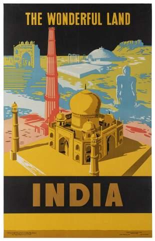 [INDIA] India / The Wonderful Land. New Delhi: