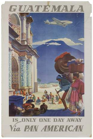 LAWLER, Paul George. Pan American / Guatemala. (1938).