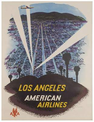 LUDEKENS, Fred (1900–1982). American Airlines /