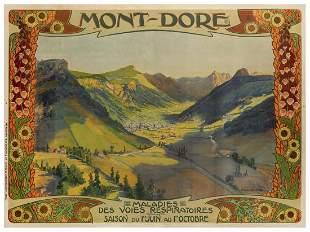 Mont Dore / Maladies. Paris: M. de Brunoff, ca. 1902.