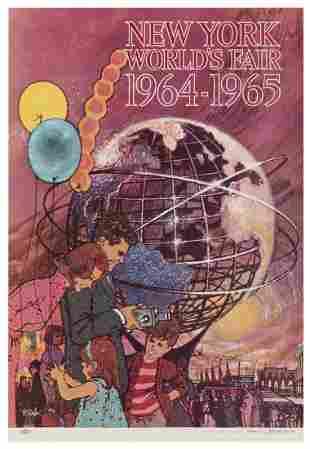 [NEW YORK] Peak, Bob. New York World's Fair