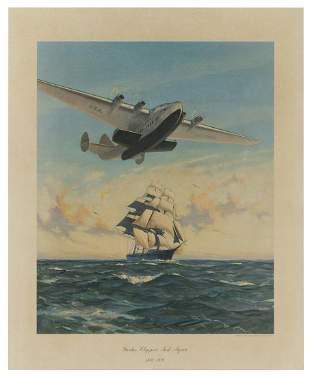 GRANT, Gordon. Yankee Clippers Sail Again. 1838-1939.
