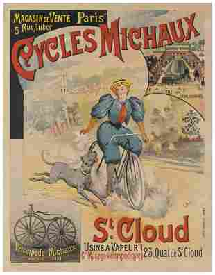 BERGE, L. Cycles Michaux. Paris: G. Bataille, ca.