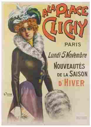 TICHON, Charles. A La Place Clichy / Nouveautes de la