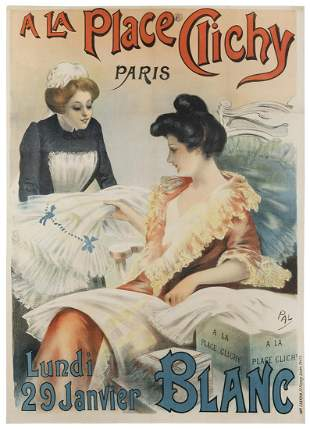 PALEOLOGUES, Jean de (1855-1942). A La Place Clichy /