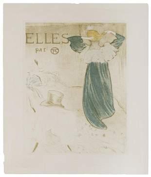 TOULOUSE-LAUTREC, Henri (after). Elles. Posthumous