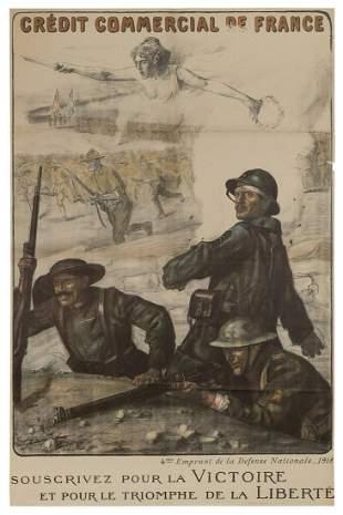 JONAS, Lucien (French, 1880-1947). Credit Commercial de