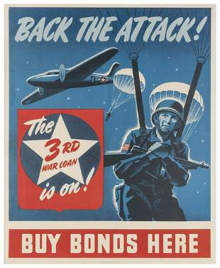 Back the Attack! / 3rd War Loan. U.S. Government