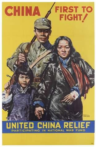 SAWYERS, Martha. China / First to Fight! USA, ca. 1943.