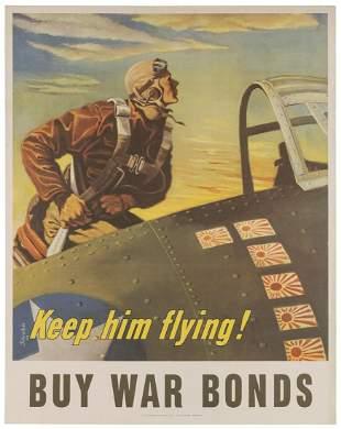 SCHREIBER, Georges (1904-1977). Keep Him Flying / Buy