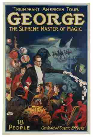 George, Grover. George / Supreme Master of Magic.