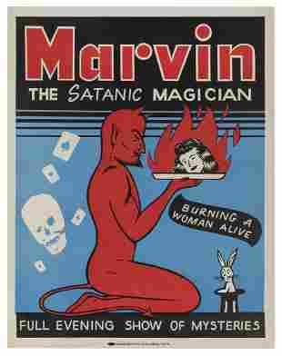 Marvin (Woodrow Alvin Platt). Marvin the Satanic
