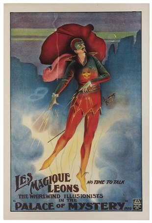Les Magique Leons / The Whirlwind Illusionists.