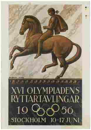 SJOSVORD, John (1890-1958). XVI Olympiadens