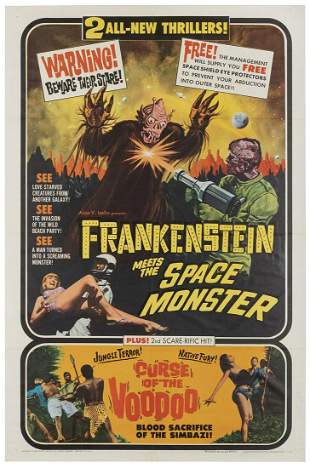 Frankenstein Meets the Space Monster / Curse of the