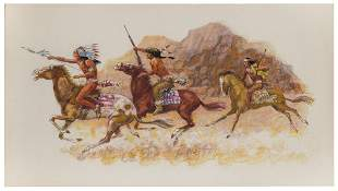 MUELLER, Howard (20th Century). Native American