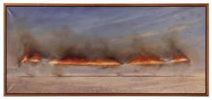 STORRIER, Tim (Australian, b. 1949). Noonline Blaze.