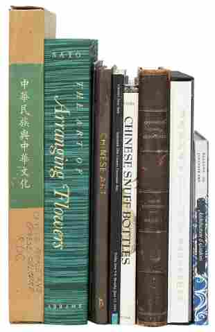 [ASIAN] Group of 10 Chinese and Japanese Art Books and