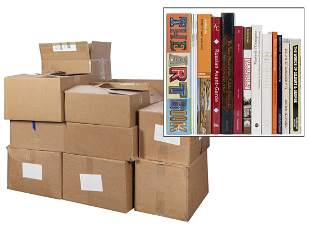 A Library of Over 230 Modern Art Books, References,