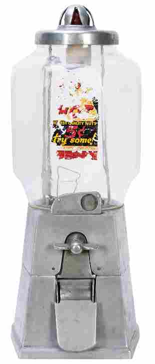 Asco Vending Machine Exchange 5 Cent Peanut Dispenser.