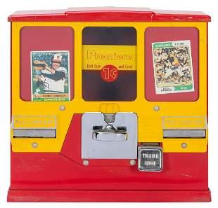 Oak Mfg. Co. Inc. Premiere Ball Gum & Card Dispenser.
