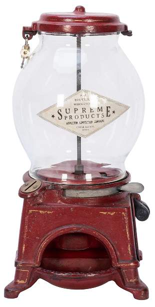 Ad-Lee Novelty Co. E-Z Gumball Machine. Chicago, IL,