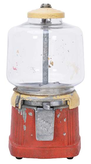Atlas Mfg. and Sales Co. Atlas Ace Gumball Machine.