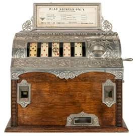 Mills Superior 5 Cent Poker Reel Trade Stimulator.