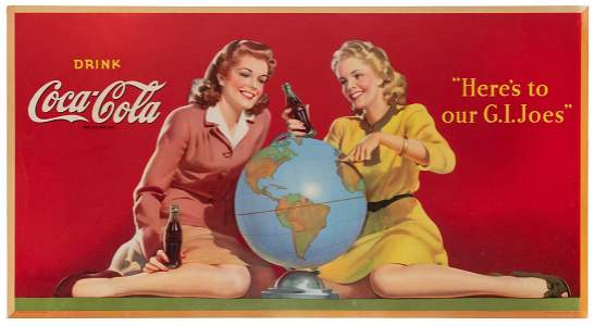 Coca-Cola / Here's to our G.I. Joes. New York: Snyder &