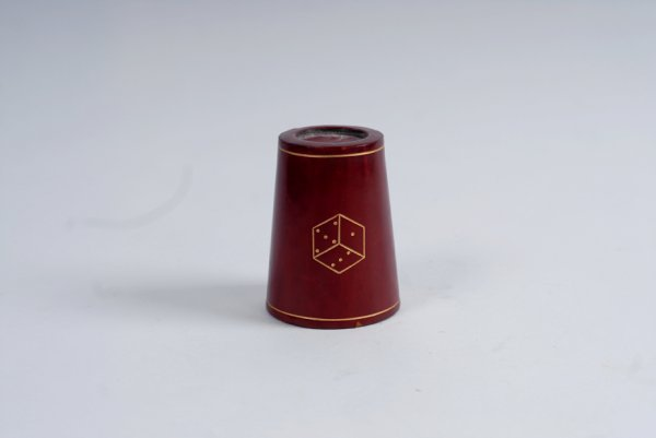 9: Chop Cup. Maker unknown (likely Inzani-Henley)
