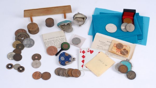 11: Coin tricks and trick coins from the collection of