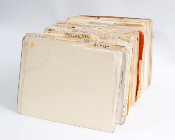 12: Bruce Cervon's private files - magic correspondence