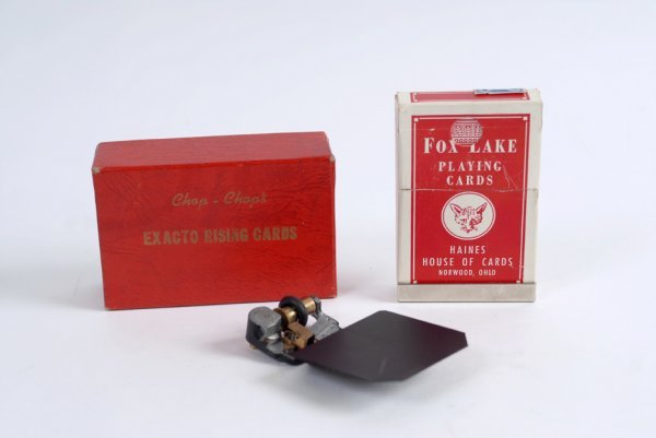 19: Exacto Rising Cards made by Al Wheatley, ca. 1960