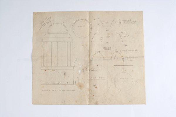 20: Paul Fox magic archive: blueprints and letters